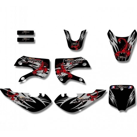 Kit déco Dirt bike KLX Scorpions