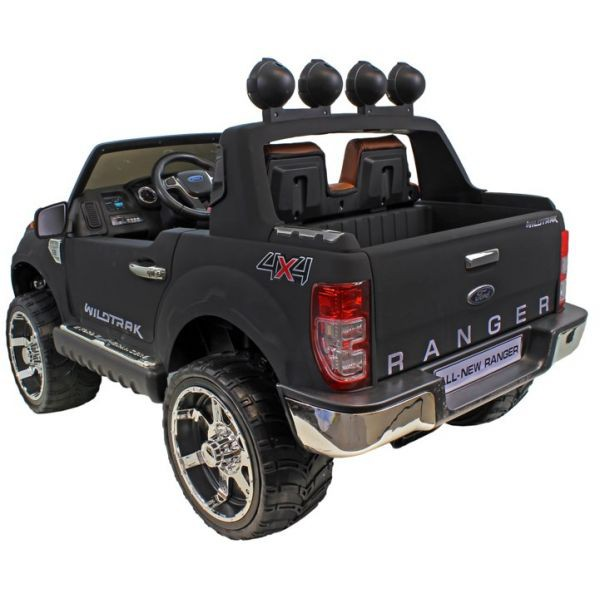 voiture lectrique ford ranger version luxe noir mat 2 places 12 volts pi ces quad dirt. Black Bedroom Furniture Sets. Home Design Ideas