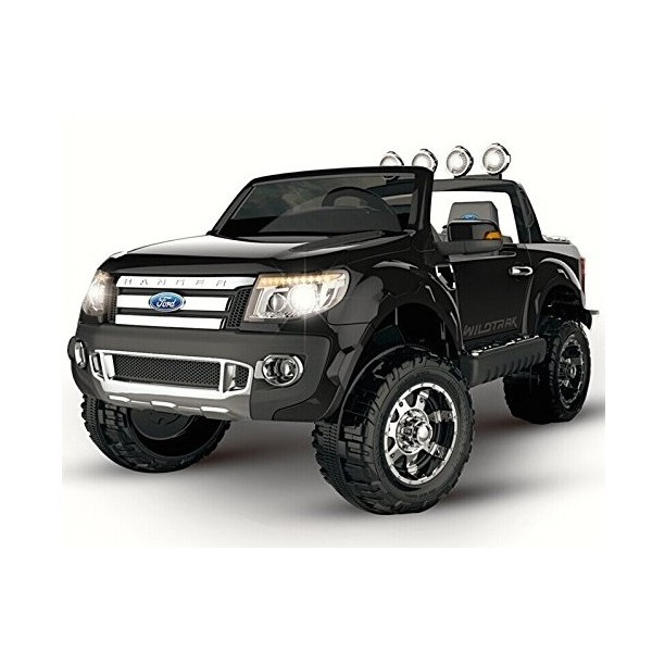 voiture enfant ford ranger noir electrique 12v 2 moteurs pi ces quad dirt. Black Bedroom Furniture Sets. Home Design Ideas
